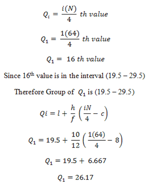 how to find quartiles given mean and standard deviation
